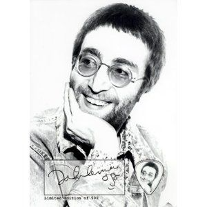 John Lennon The Beatles Signed Autographed Limited Edition ...