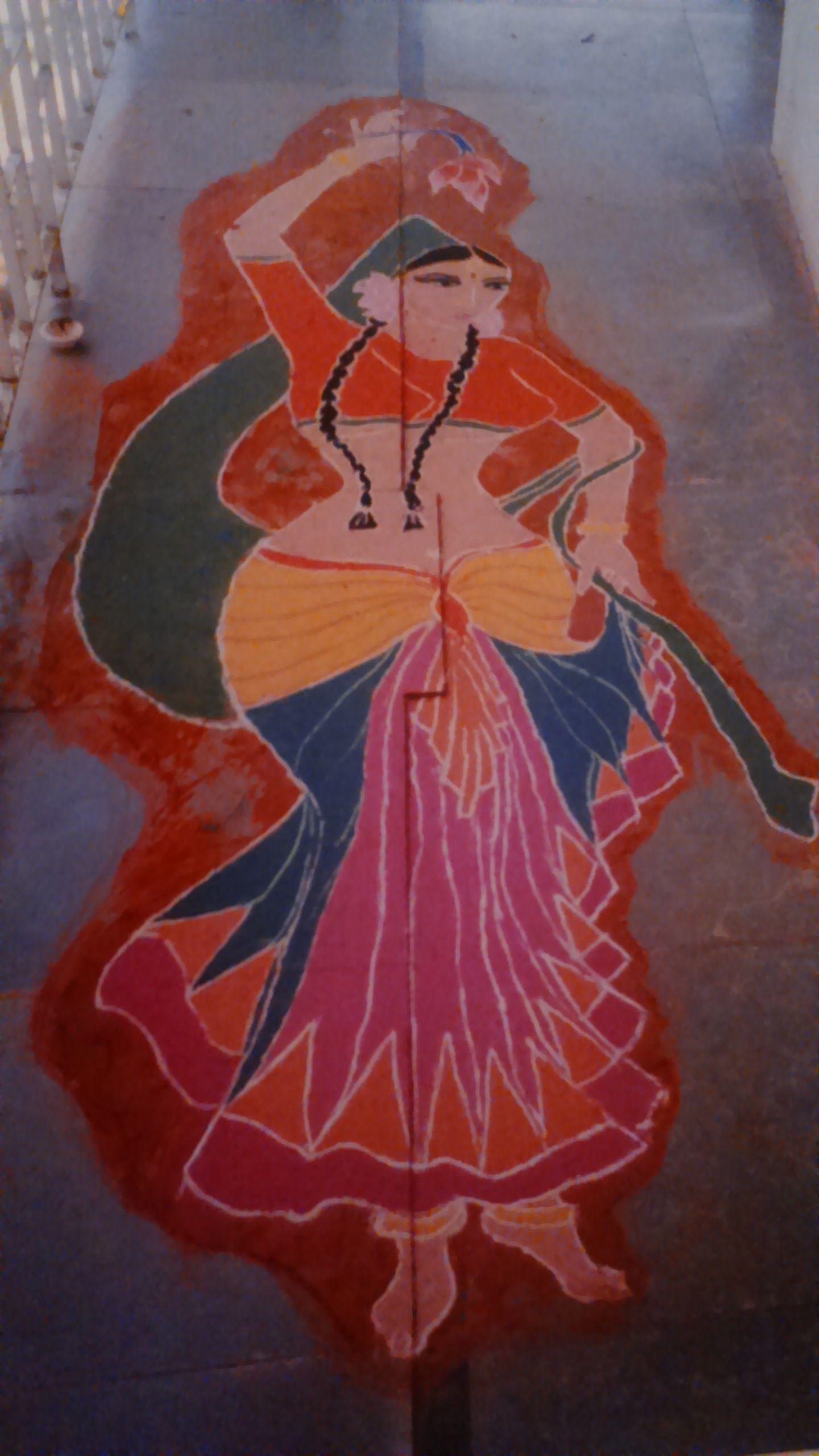 My Diwali rangoli | Rangoli | Pinterest