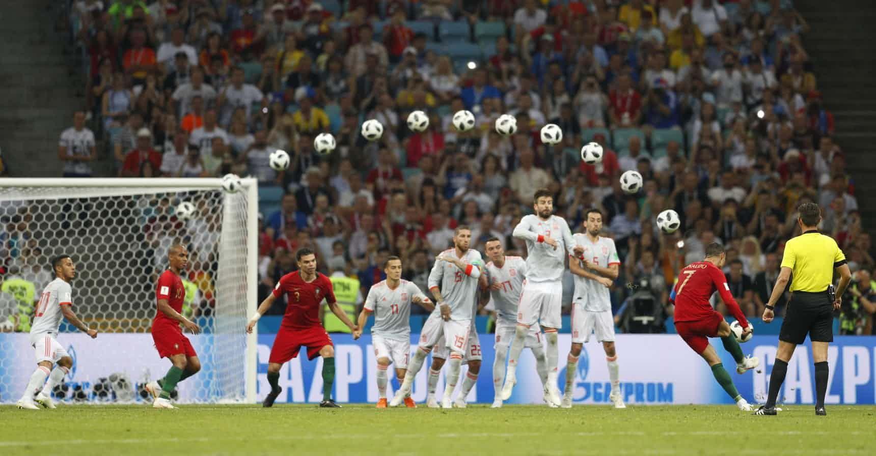World Cup 2018 Guardian Writers Pick Their Highs And Lows Ronaldo Free Kick Cristiano Ronaldo Free Kick