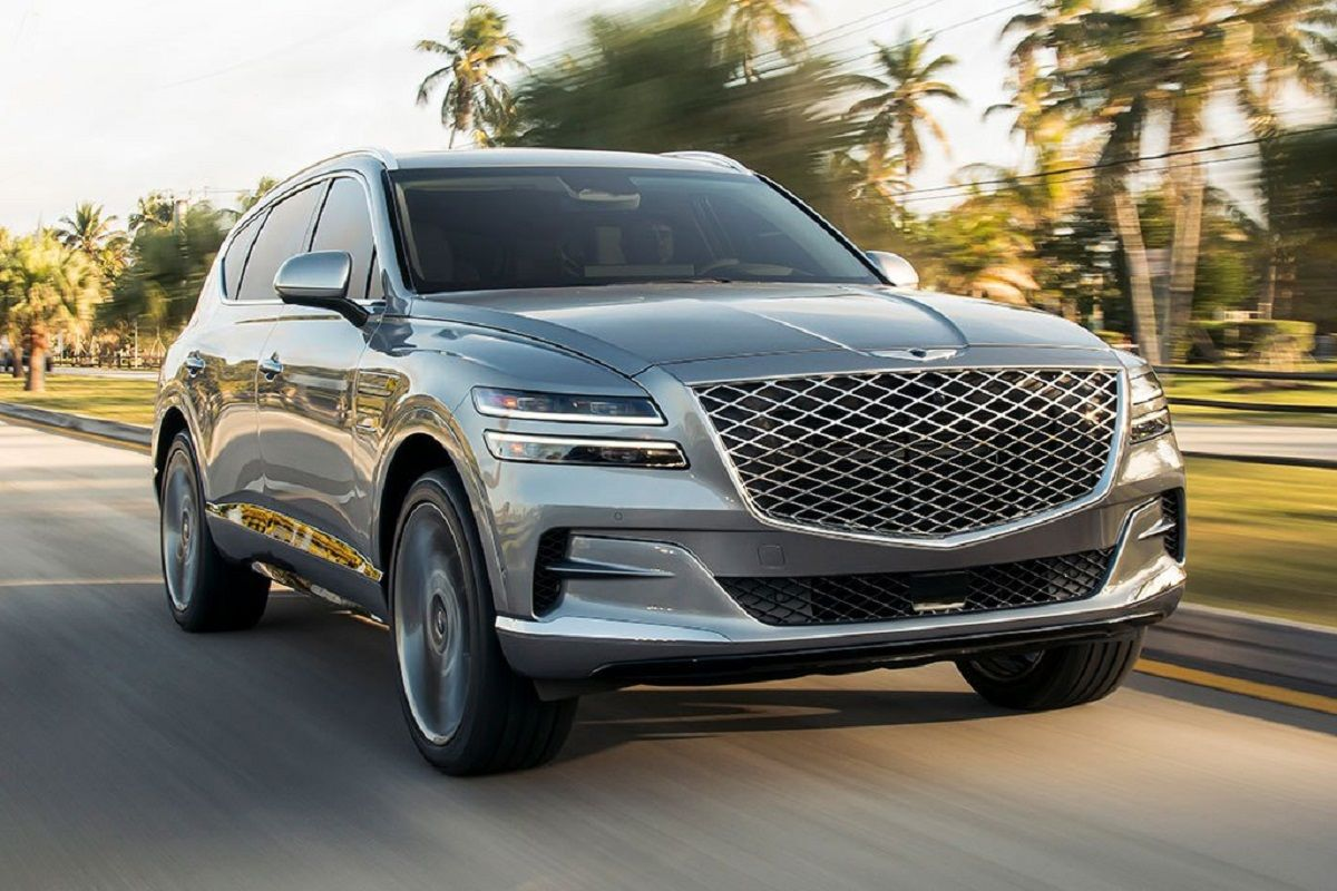 The allnew 2021 Genesis GV80 will be available to