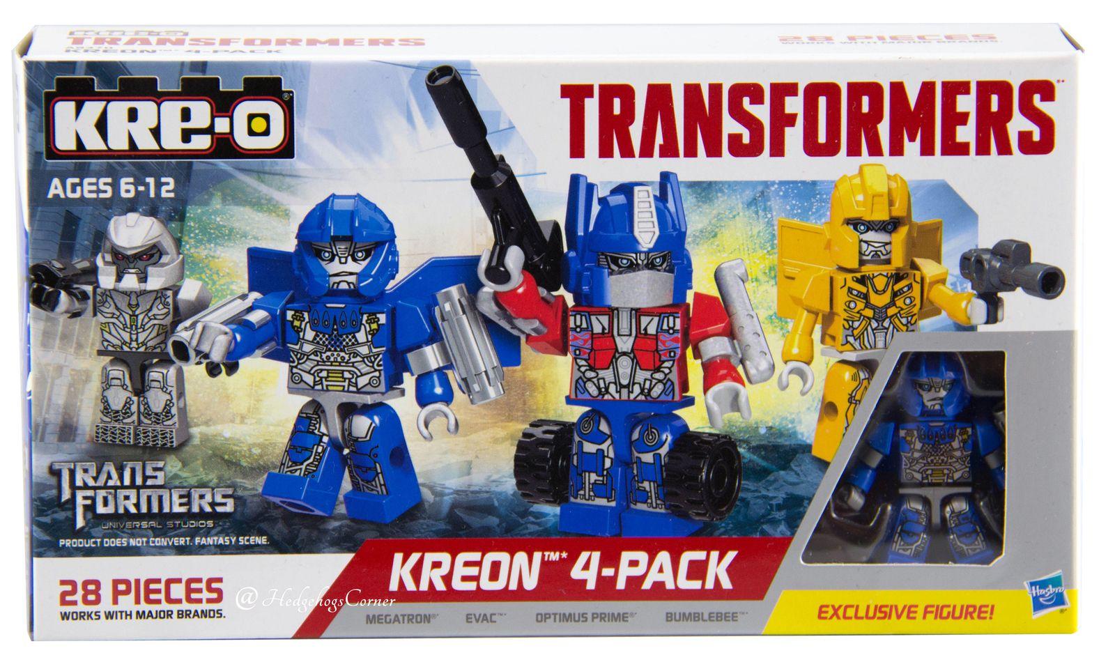 Nouveau Officiel Transformers Super Déformé 3-Pack Collectible Figures