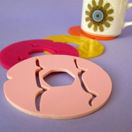 nikki mcwilliams iced ring coasters