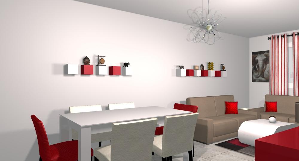 Deco Salon Rouge Et Gris Idee Deco Salon Gris Salon Gris Et