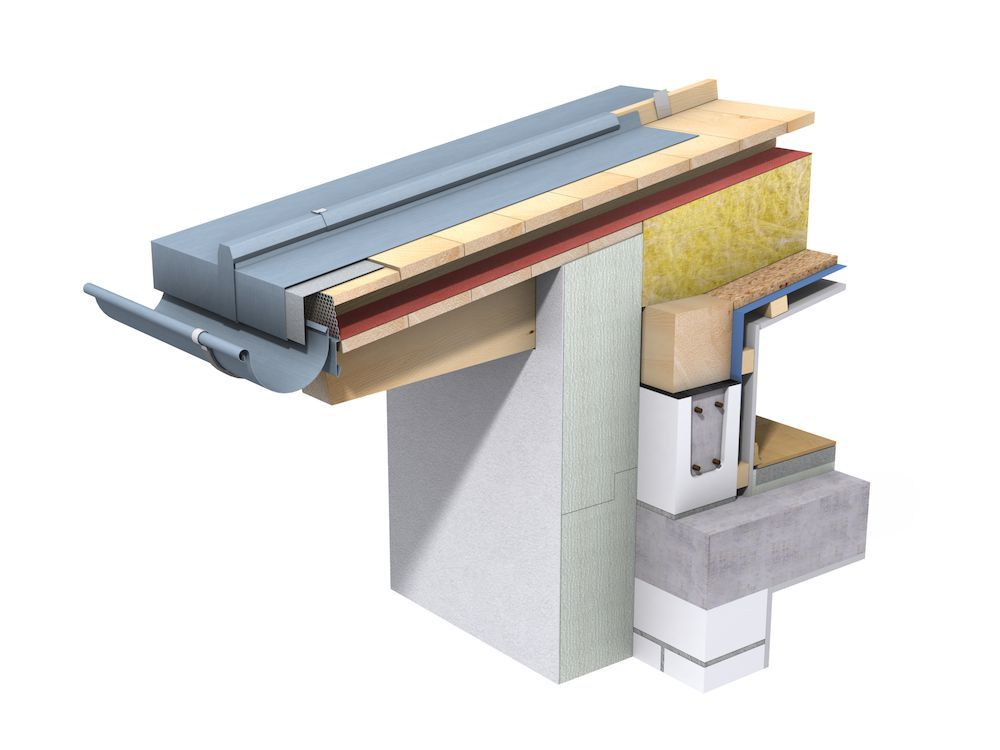 toiture zinc d tail parts of constructions 2019 roof architecture zinc roof roof. Black Bedroom Furniture Sets. Home Design Ideas