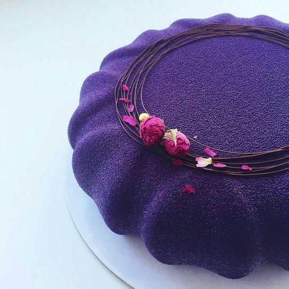 #pinspire #cake #holiday #color #glaze #fruits #natural # ...