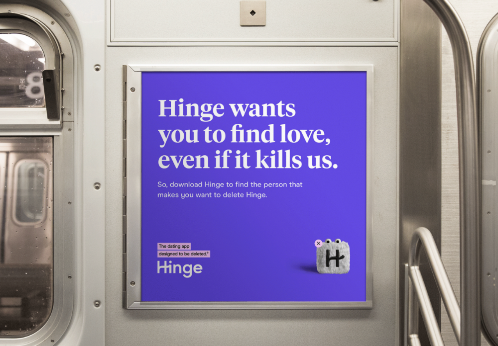 Hinge The Dating App Designed to Be Deleted by Red Antler