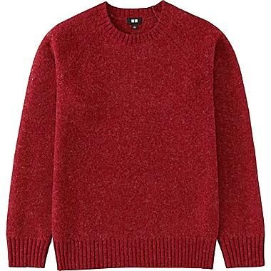 MEN Boiled Wool Crew Neck Sweater | Knitwear men, Crew neck