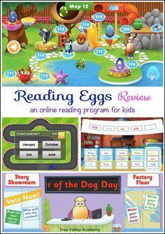 Reading Eggs Review Reading Eggs Reading Programs For Kids Kindergarten Activities