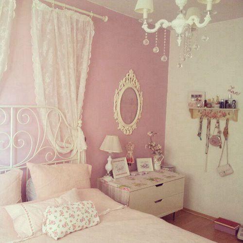 Pastel Bedroom Vintage