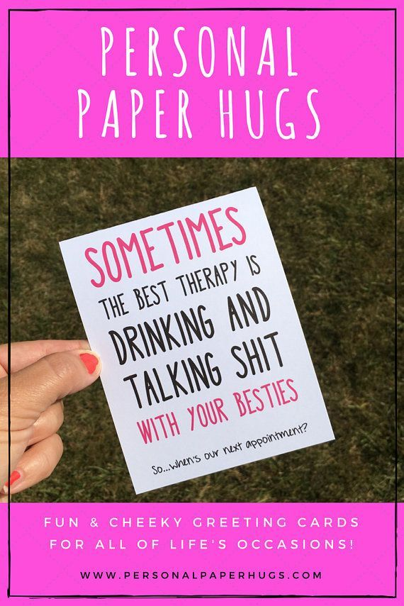 Wonderful Funny Friendship Card For Friend / Best Friend Card For Bestie / Funny  Drinking Card / BFF Card For Bff / Long Distance Friendship Card | Friendship  Cards