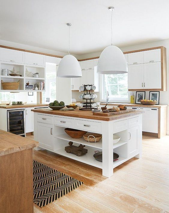 Über 25 Kücheninsel-Ideen mit Sitzplätzen und Stauraum