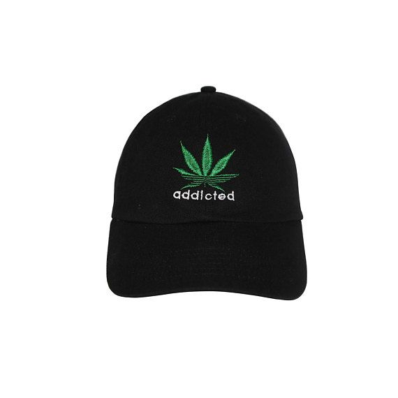e9253736767e91 Addicted to weed Embroidered Cap Dad cap dad hat embroidered baseball cap  Peach hat unisex cap