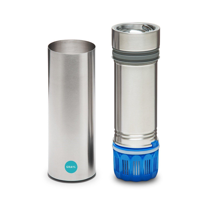 Amazon.com: GRAYL Legend TAP Water Filter (Steel / Grey): Kitchen & Dining