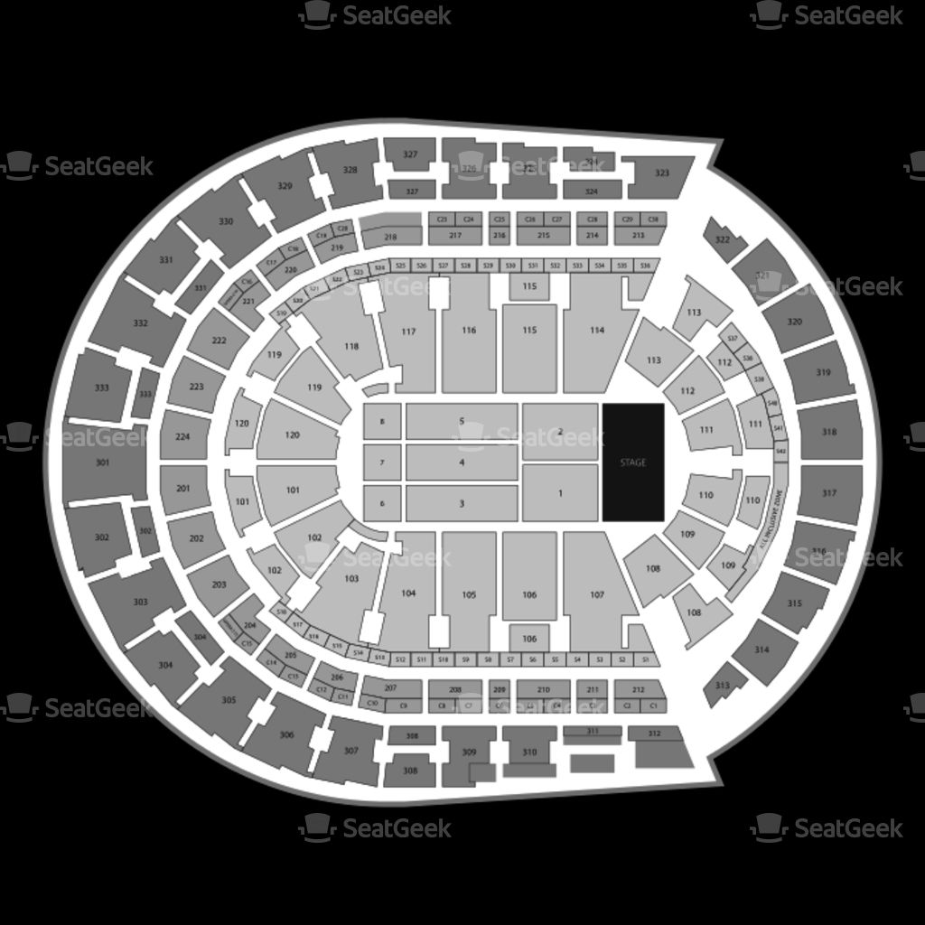 nashville predators (With images) Seating charts, The