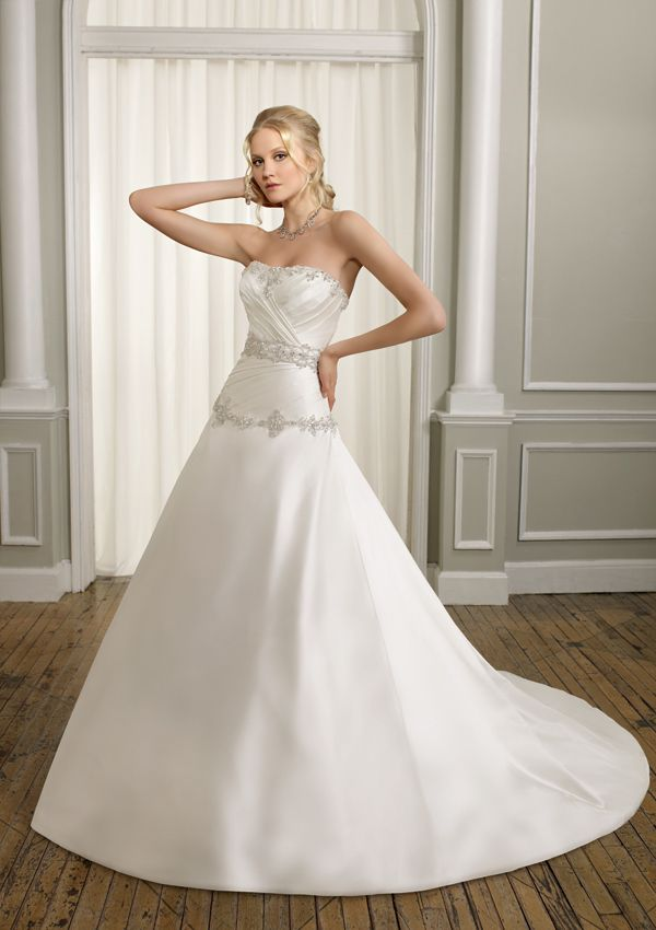Mori Lee 1652 Size 12 Ivory Look fabulous for less! Visit www ...
