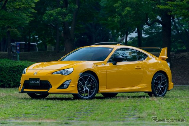 Photo Feature Limited Edition Toyota 86 In Sunrise Yellow Responsejp Automobile New Model New Models Toyota 86 Car Toyota