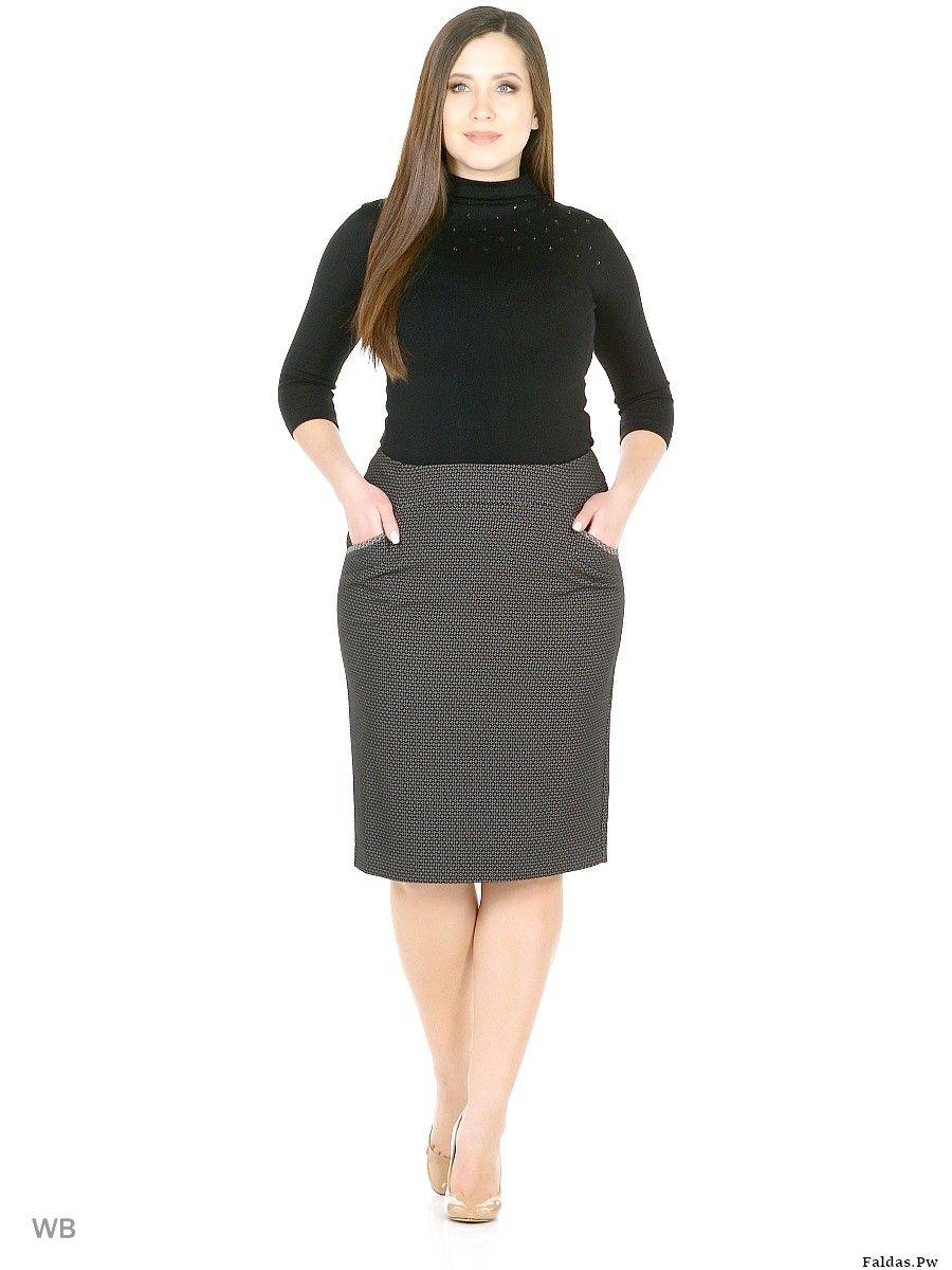 envío gratis 3cccb 02270 Que modelo de faldas para gorditas | Moda | Faldas para ...