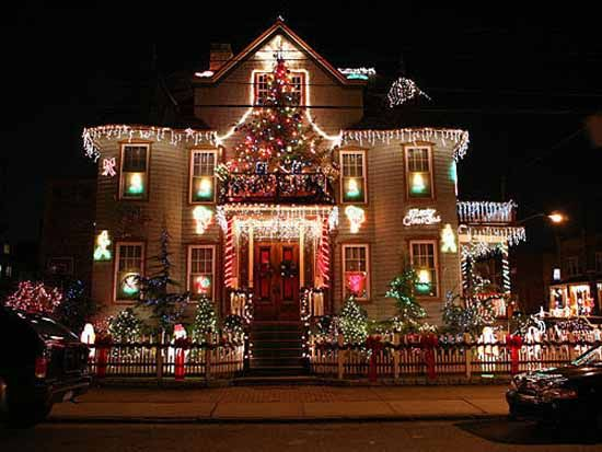 Top Christmas Light Displays House decorations Pictures of and