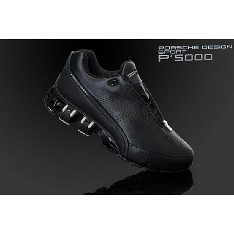 new concept 8e450 bedb4 Adidas Porsche Design Adidas Bounce SL P5510 Black Silver Titanium