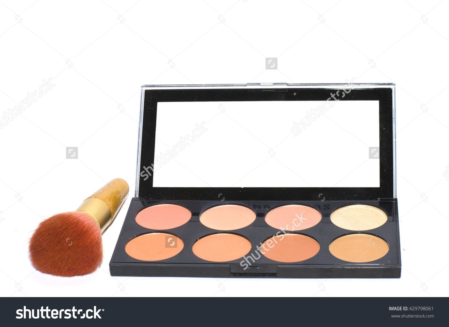 Ultra Blush Palette, isolated on white MehronMakeup