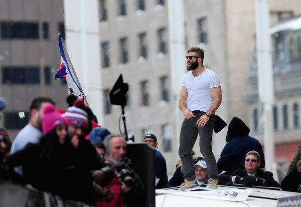 Julian Edelman Photos Photos New England Patriots Victory Parade Julian Edelman Victory Parade New England Patriots