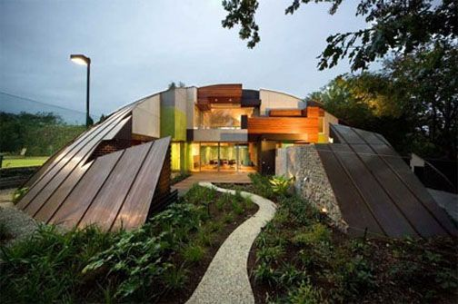 The Klein Bottle experital house explores the theme of a ...