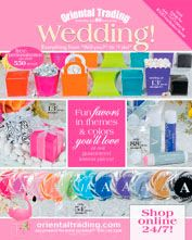 Plan Your Wedding With Free Wedding Catalogs: Oriental Trading ...