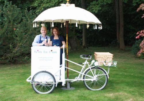 Vintage Wedding Dresses Hampshire: Ice Cream Trike Hire For Your Wedding