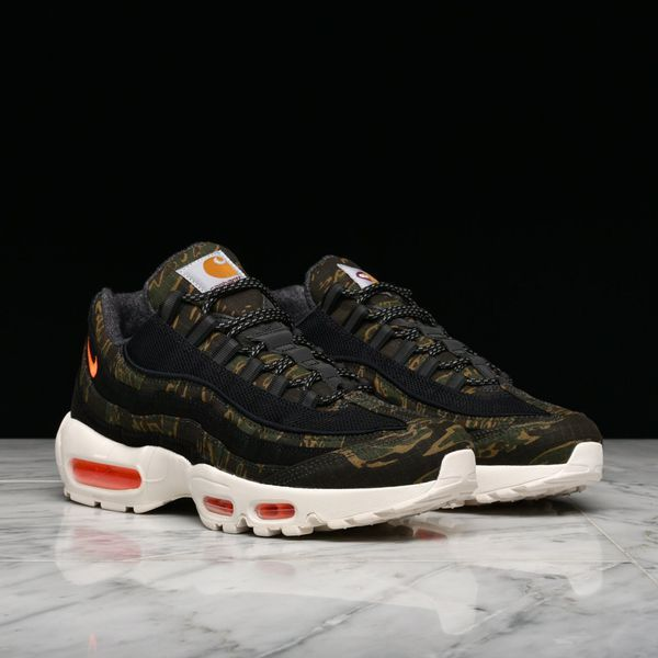 release date e15be 2c428 Camouflage Nike x Carhartt Wip Air Max 95 Sz 9, 10, 10.5 ...