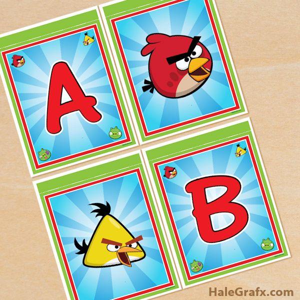 Angry Birds Printable