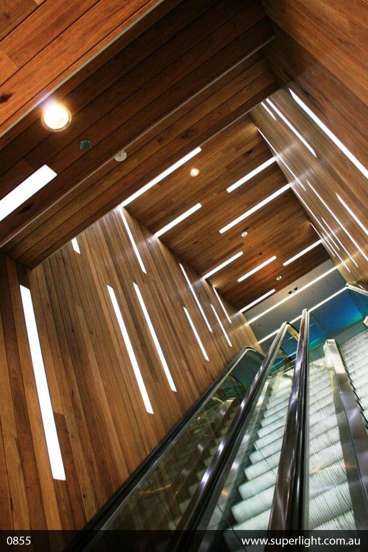 Project 0855 Modern Escalator Design Www Superlight Co Led Modern Decor Linear Lighting Lighting Design Interior Lighting Suppliers