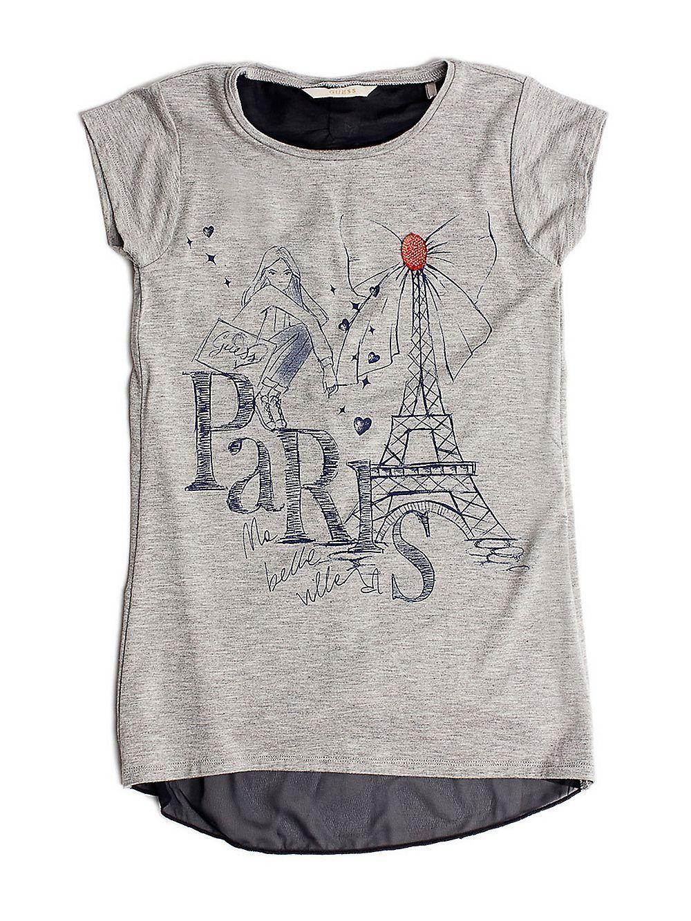 f263fe5cb Camiseta estampado París