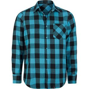 Straight Faded Buffalo Check Men's Flannel Shirt | Ed Perkins ...