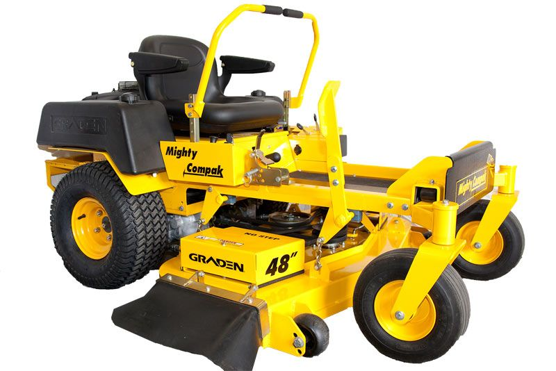 Graden Mighty Compak Zero Turn Lawn Mower Lawn Mower Zero Turn Lawn Mowers Mower