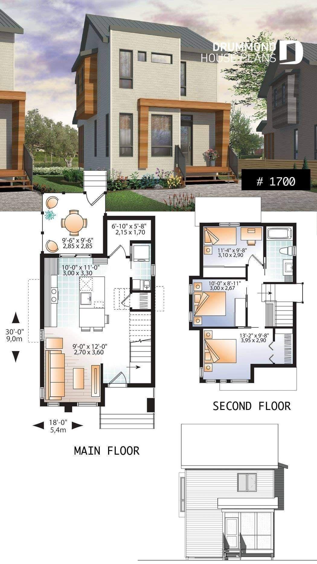 Pin Oleh Ruangrong Di Architecture Arsitektur Denah Rumah Desain Rumah