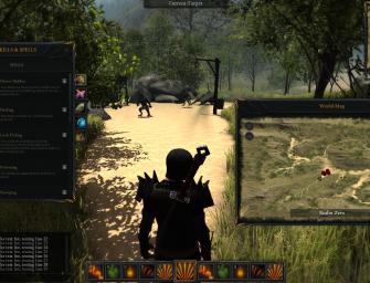 Solo Developer Crafts Sandbox MMORPG