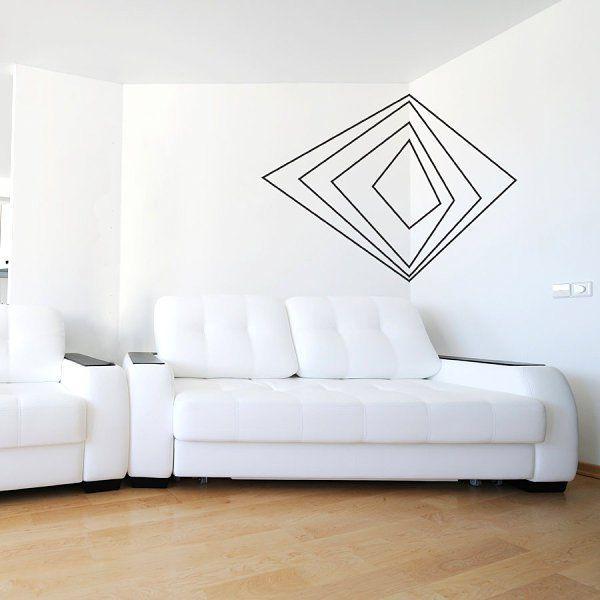 mur deco geometrique masking 600 600 pixels furniture pinterest tapas diy et. Black Bedroom Furniture Sets. Home Design Ideas