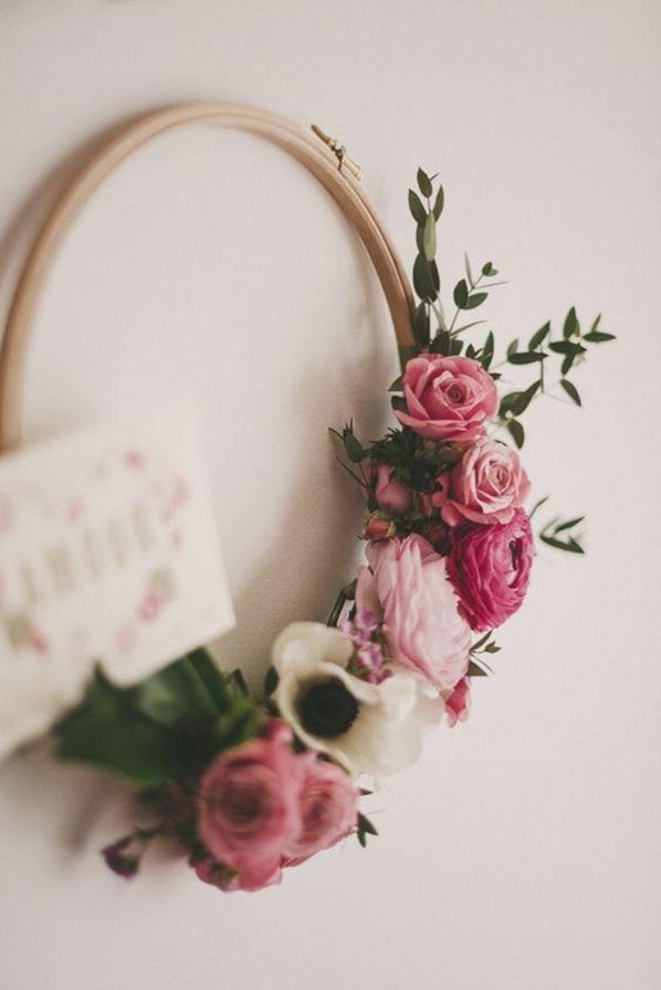 Hochzeitstrend: Sträuße in Kreisform