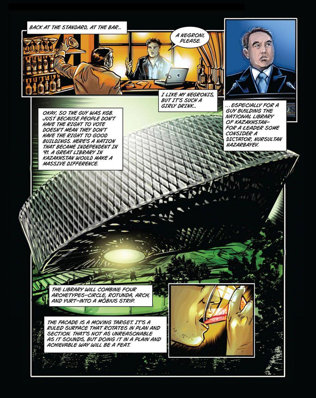 e n arkitektur Bjarke Ingels er en tegneseriefigur   RASMUS BRØNNUM – en  e n arkitektur