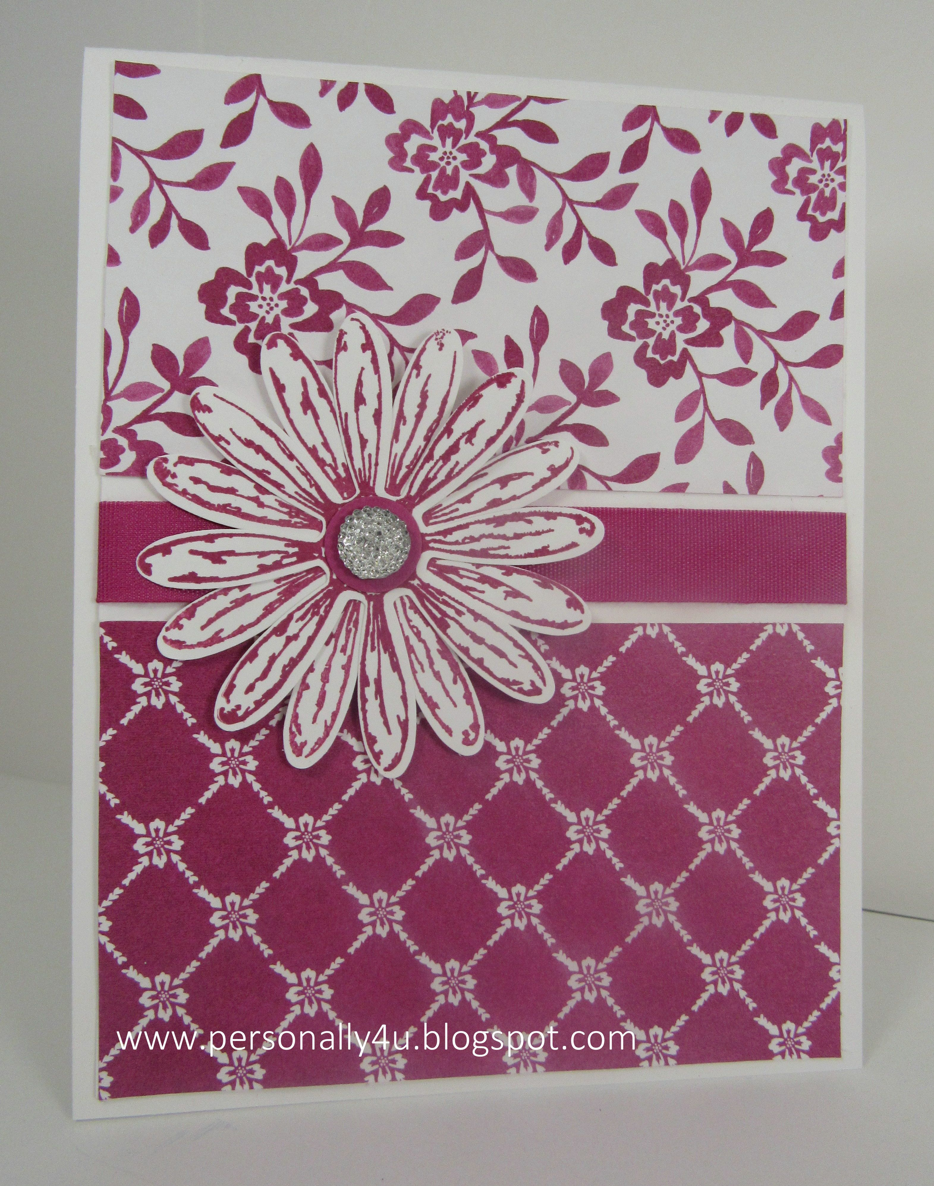 Stampin up delightful daisy stamp set in berry burst in color stampin up delightful daisy stamp set in berry burst in color fresh florals dsp izmirmasajfo