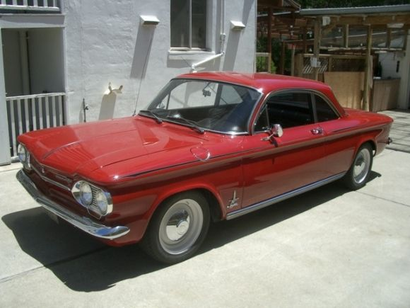 BaT Exclusive 1963 Chevrolet Corvair Monza Spyder Turbo