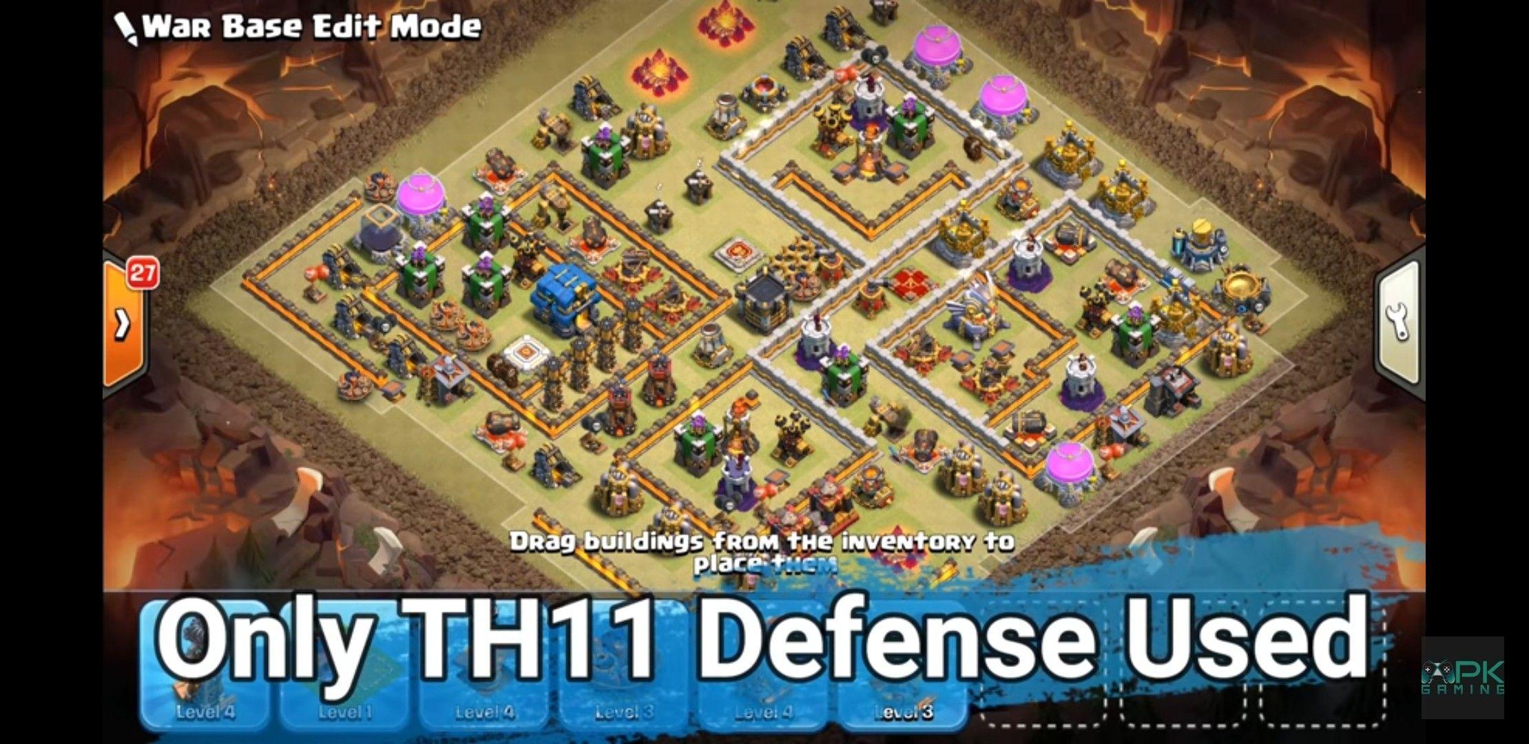 Th12 war base trophy farming base layouts – Artofit