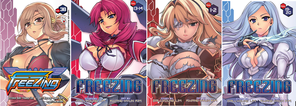 Manga Reviews — Freezing (Ongoing) My manga books