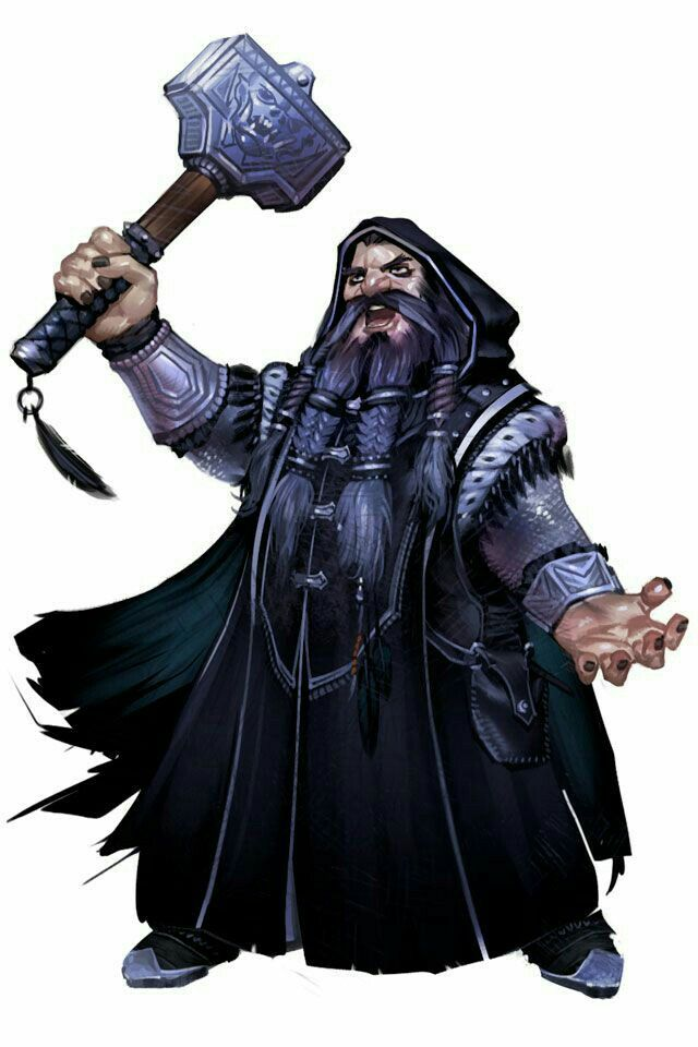 Dwarf Cleric - Pathfinder PFRPG DND D&D d20 fantasy | Fantasy dwarf, Dungeons and dragons characters