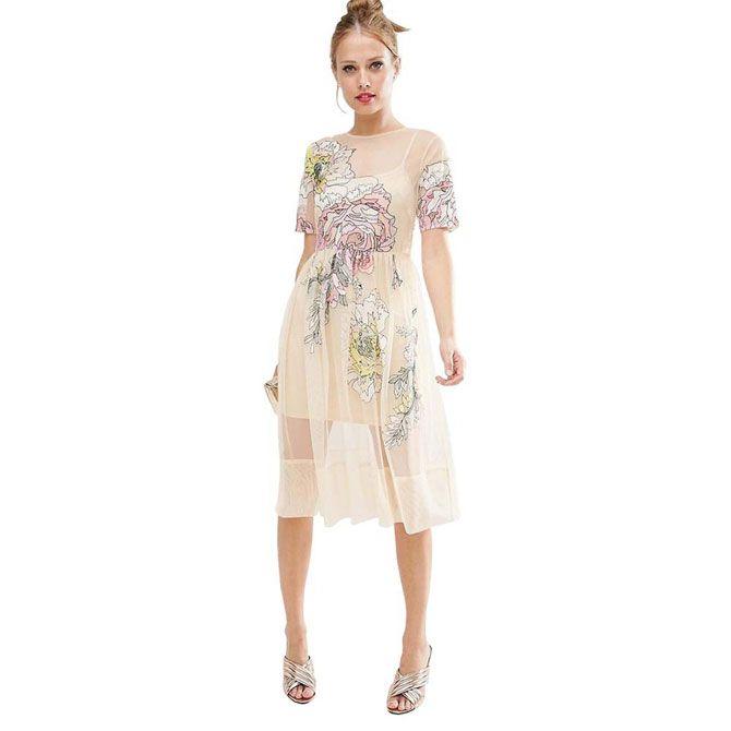 Нечего скрывать  как носить прозрачные платья   КРАСОТА И МОДА ... d741a1fbc4e