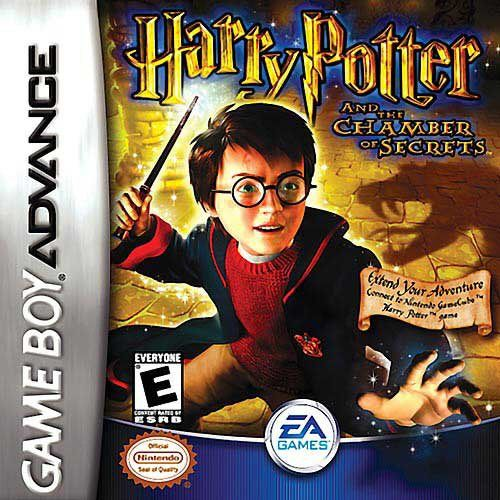 Harry Potter And The Chamber Of Secrets Chamber Of Secrets Secret Game Gameboy