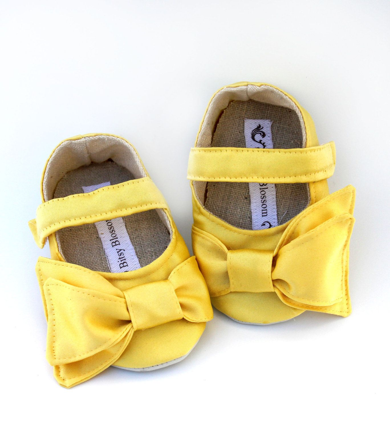 Baby Shoes Soft Soled Primrose Beauty Sizes 14 by BitsyBlossom, $30.00