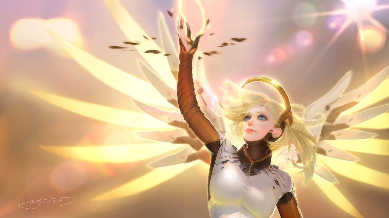 Картинки овервотч ангел 2