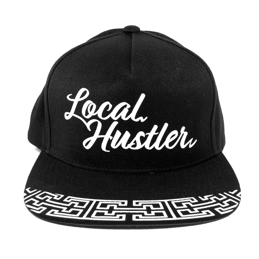 221dbf3b5c1 Local Hustler Black Snapback Hat w  Green Undervisor by 3rd Coast Clothing   fashion  clothing  shoes  accessories  mensaccessories  hats (ebay link)