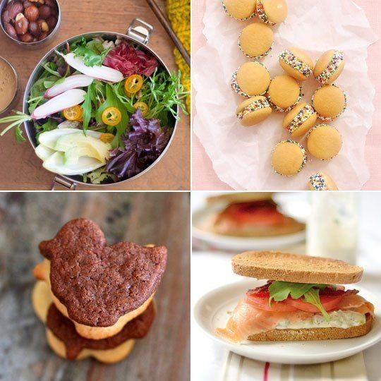 Smoked Salmon Sandwich & Gluten-Free Chocolate Animal Crackers — Delicious Links